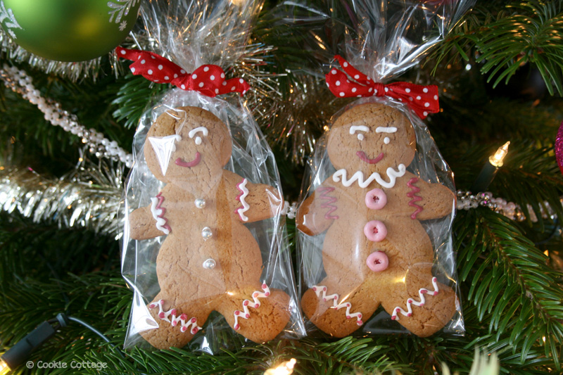 Gingerbread man coookies