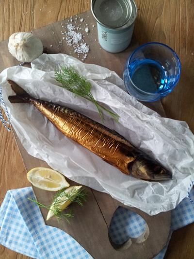 Foodstyling vis tijdens workshop foodstyling en foodfotografie