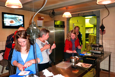 Workshop stroopwafels maken in Gouda