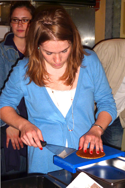 Stroopwafels maken in Gouda (workshop)