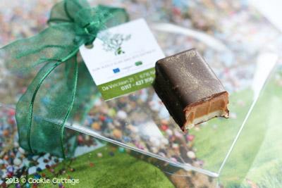 Candybar met olijfolie gemaakt door Hidde de Brabander