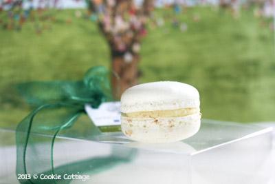 Macaron gemaakt met olijfolie door Hidde de Brabander