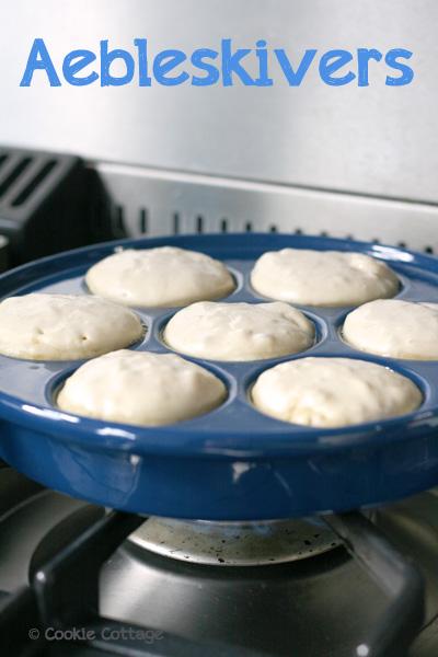Aebleskivers - Deense pannenkoeken