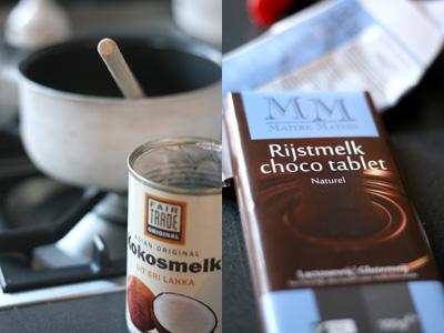 Homemade nutella onder zuivel