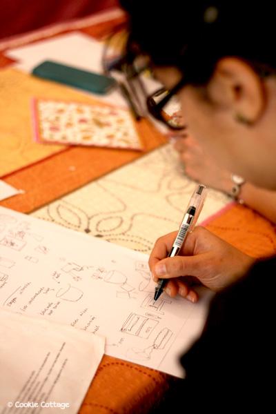 Workshop recepten illustreren met geekdechique en cookie cottage in Utrecht