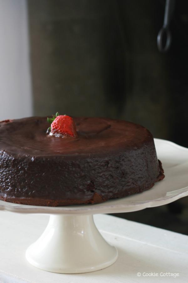 Mud cake met Amarula