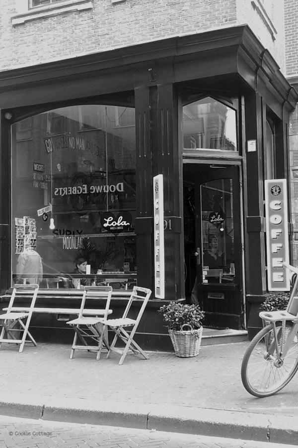 Gevel Bikes & Coffee in Den Haag