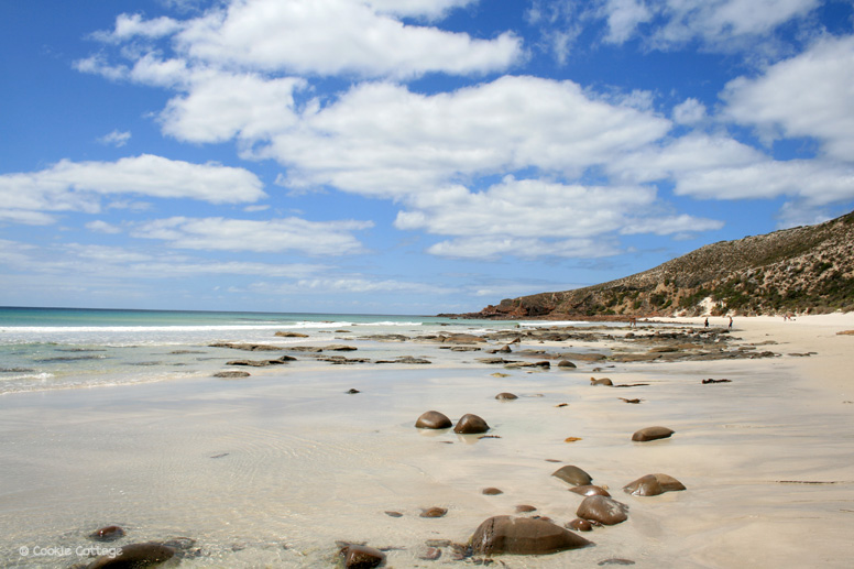 Kangaroo Island Australia - pebble beach