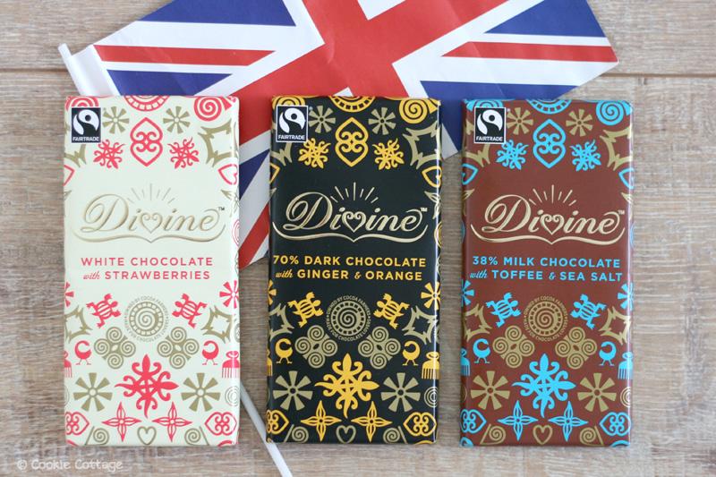 Divine Chocolate chocoladerepen