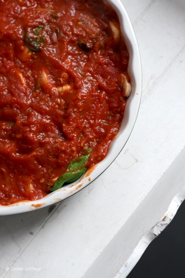 gehaktballetjes in tomatensaus uit de oven