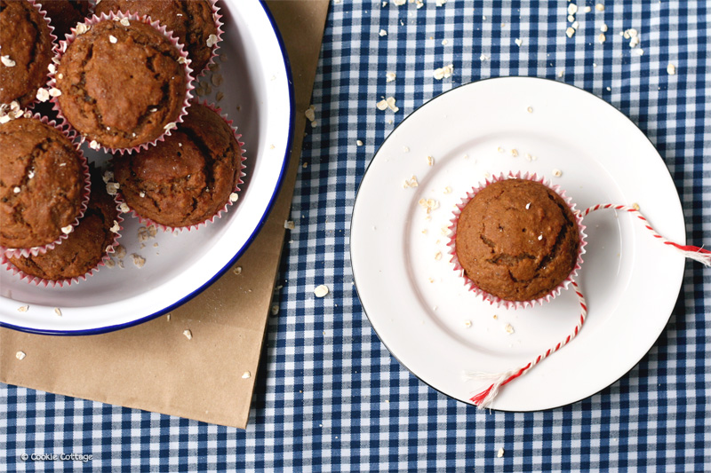 havermout muffins zonder suiker