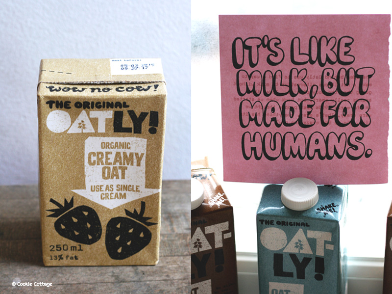 Oatly single cream -plantaardige room van haver