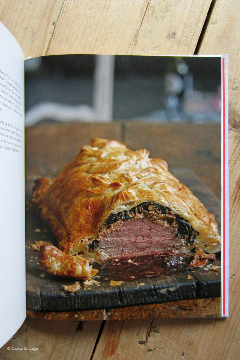 Heel Holland Bakt Feest kookboek - recept beef wellington