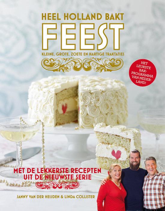 Heel Holland Bakt Feest - kookboek cover