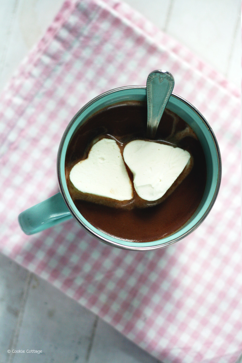 sweet chai chocolademelk met marshmallows