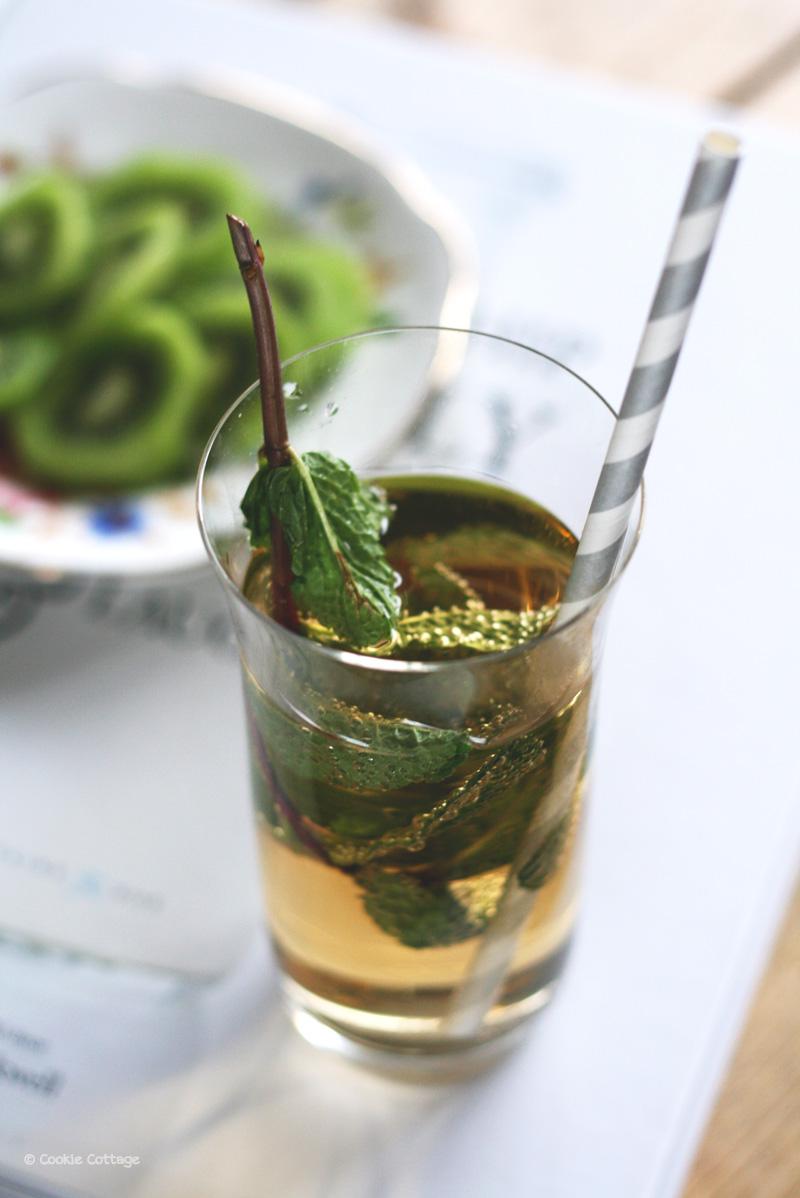 Ginger ale met munt - alcoholvrij drankje