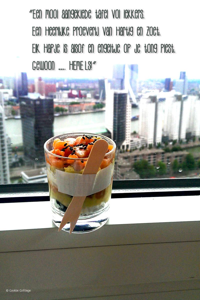 sushi met zalm en avocado - Hemels! kookboek