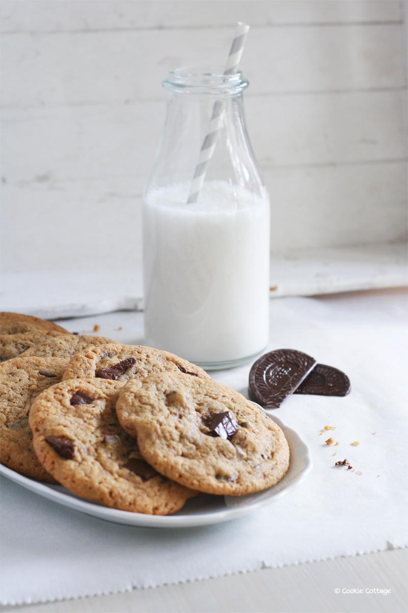 recept voor chocolate chip cookies