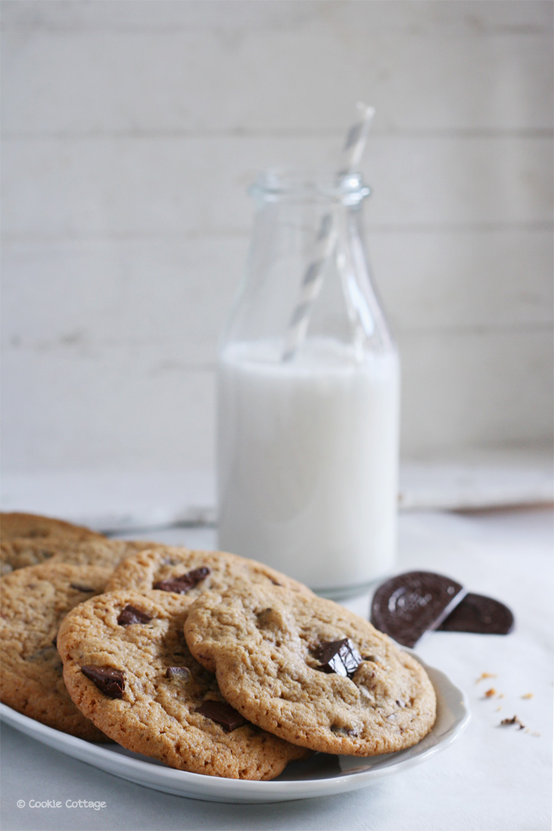 chocolate chip cookies recept