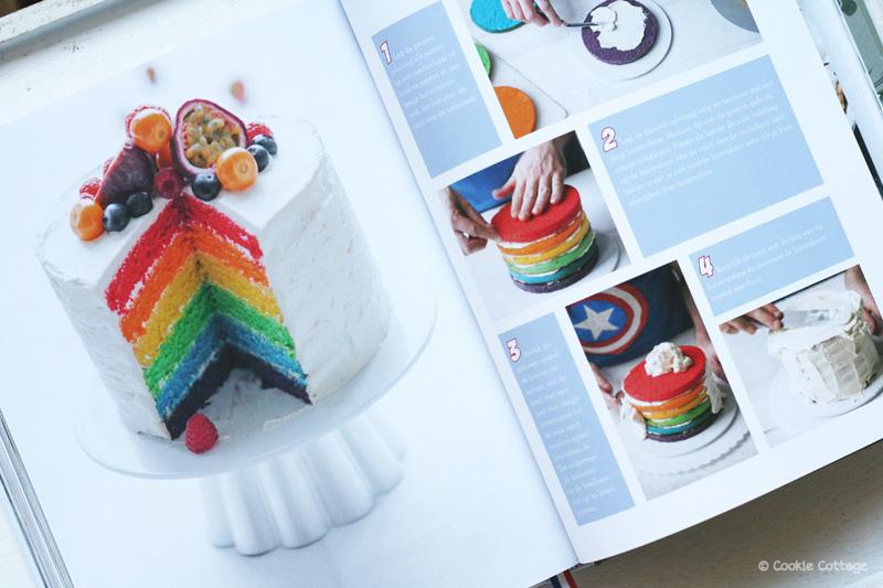 Bakken met Menno rainbow cake