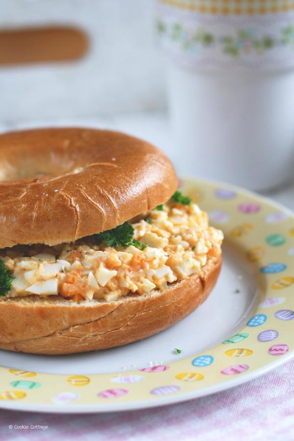 paasbrunch: recept eiersalade