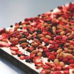 nougat met noten en bessen