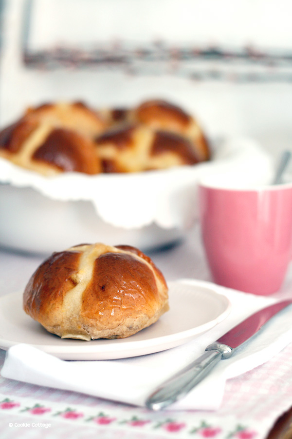 Paasbrunch: recept hot cross buns