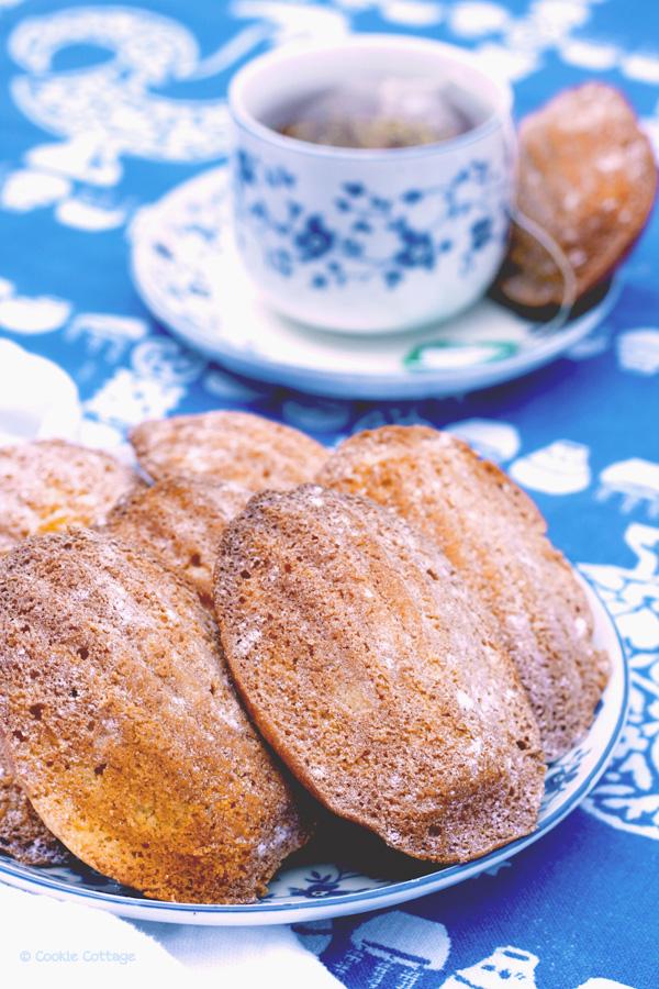 recept madeleines met thee