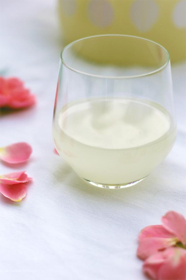 recept ginger ale met rozensmaak