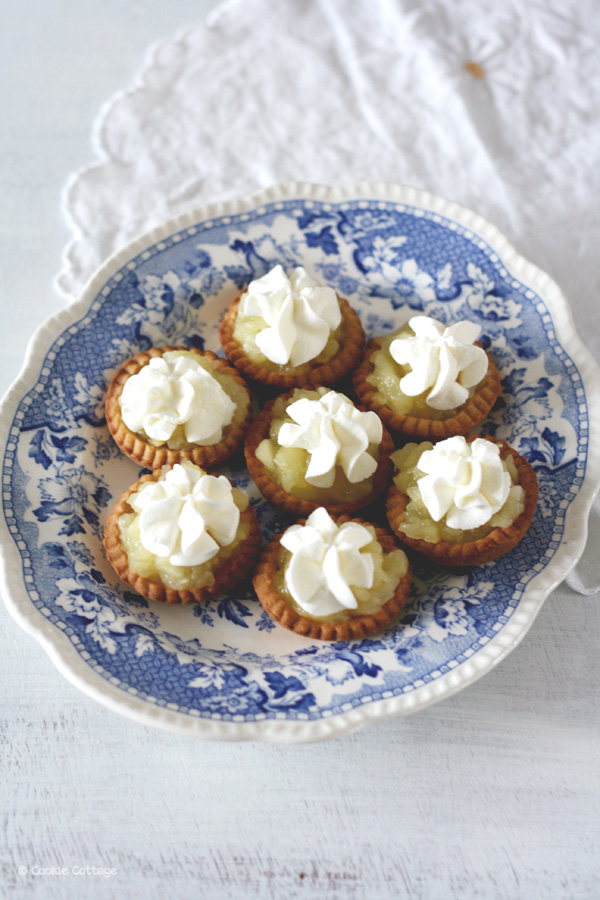 appel creams: mini appeltaartjes