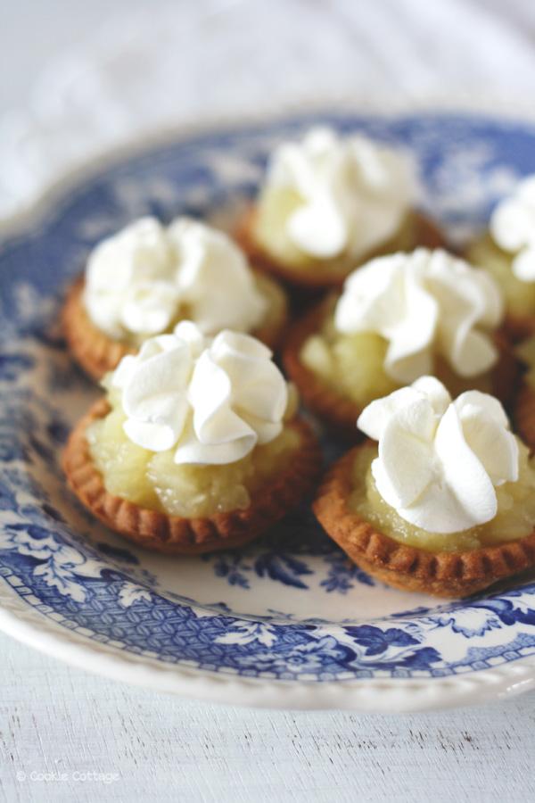 appel creams: kleine appeltaartjes