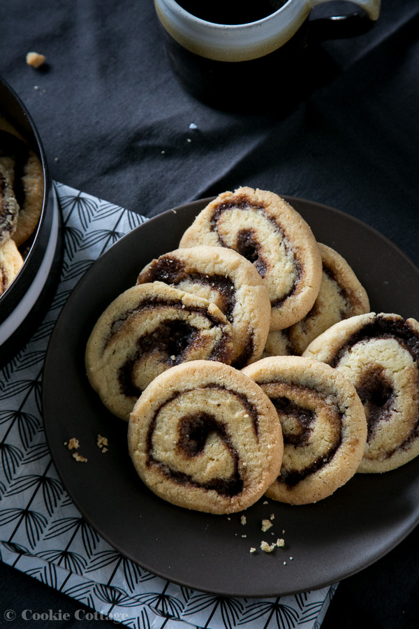 swirl koekjes recept met pumpkin pie spice mix