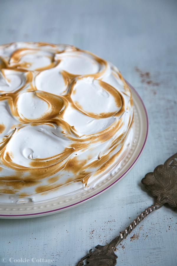 Pompoentaart recept met meringue